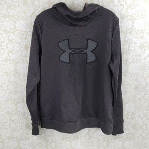 Coldgear Under Armour Gray Hoodie Size Large